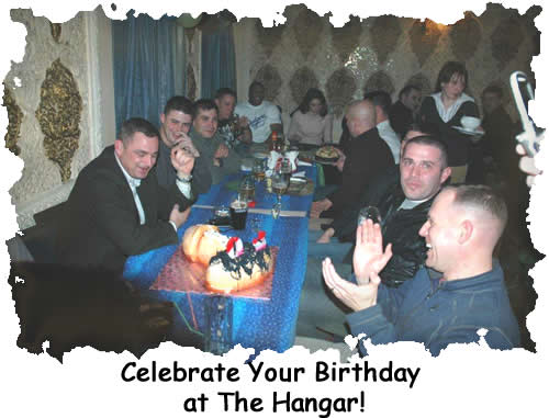 Celebrate your birthday at The Hangar!